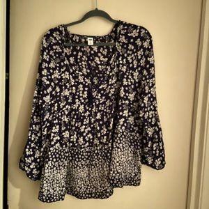Old Navy boho blouse xxl